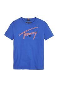 TOMMY HILFIGER KB0KB05130 TOMMY SUGNATURE T SHIRT AND TANK Unisex Boys Bluette