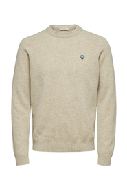 Slhnewcoban Crew Neck W Knit