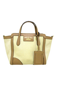 Pre-owned Mini Swing Canvas Satchel