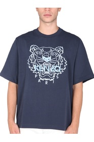 T-SHIRT WITH TIGER LOGO