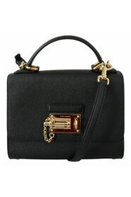 Leather Top Handle Miss Monica Bag