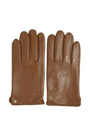 Brun Matinique Gray Leather Glove Tilbehør