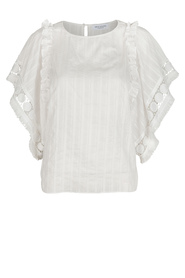 Hofmann Copenhagen Honey Blouse Hvid