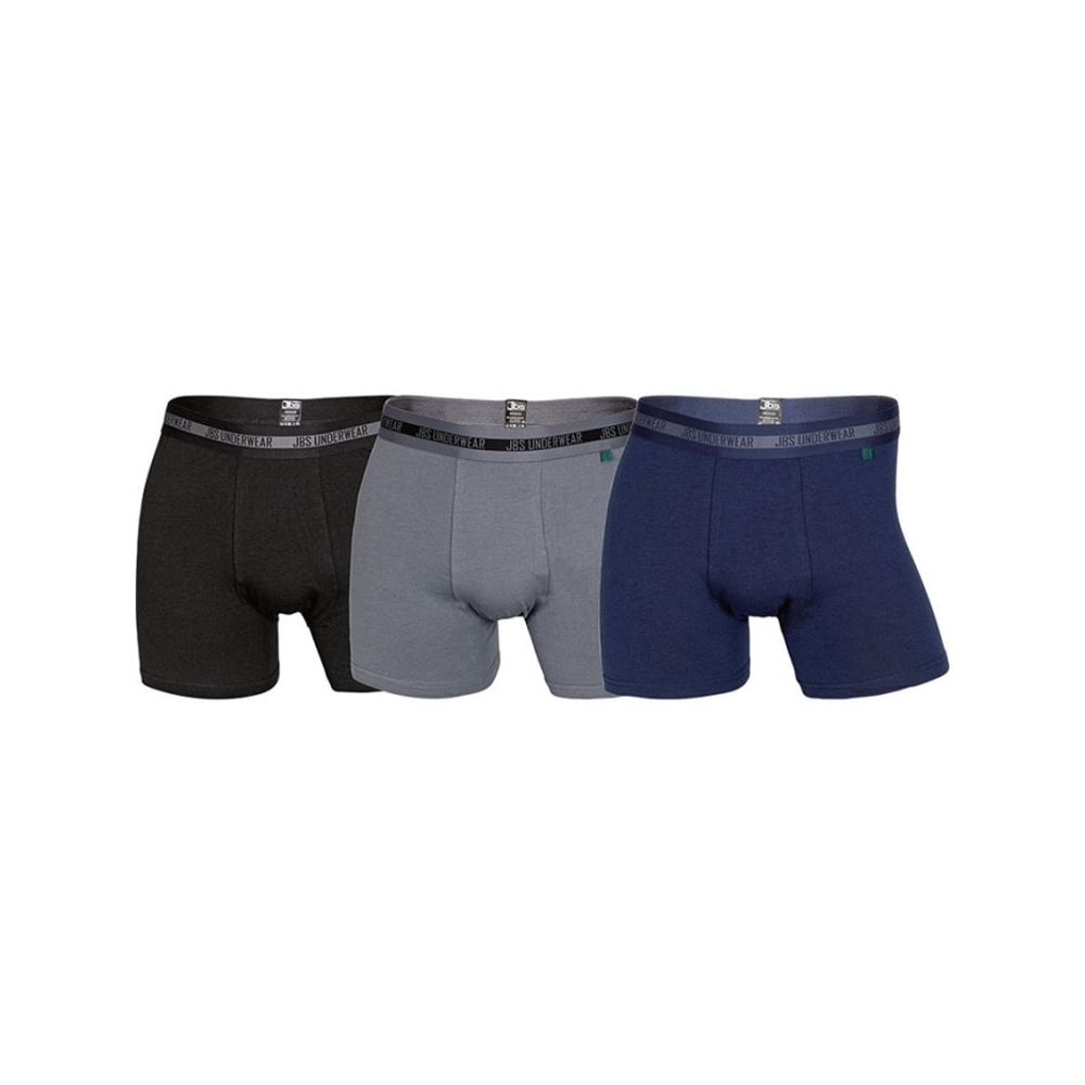 3-Pack Stretch Bamboo Boxershorts