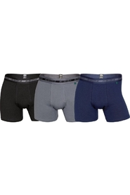 3-pack stretch bamboe boxershorts