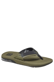 Reef Fanning Mand Low Olive