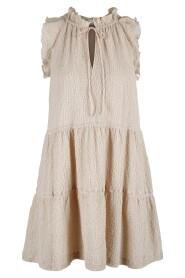 Mandy Texture Dress Kjoler / Skjørt