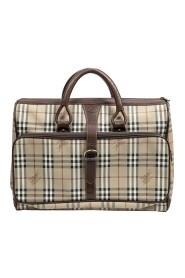 Używana torba podróżna Vintage Burberrys z klamrą z przodu