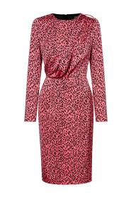 Ołówkowa sukienka Safari