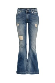 Flared Jeans Jo reg destroyed