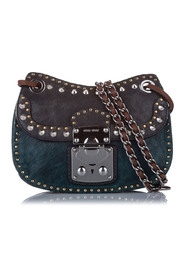 Studded Leather Crossbody