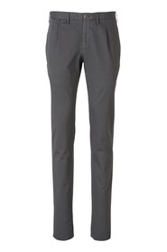 Slim Fit Cotton Trousers