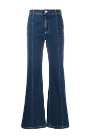 Flared model jeans