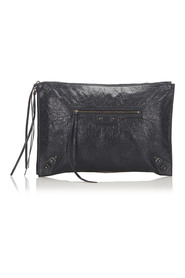 Motocross Clutch Bag Leather