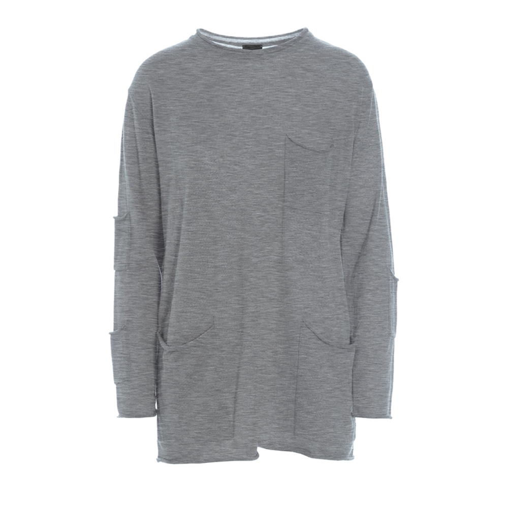 WILLOW WOOL BLUSE MED LOMMER