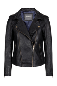 Camill Leather Jacket Black #129830 801