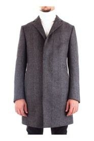 CORNELIANI 841Z17-9862324 Overcoat Men GREY