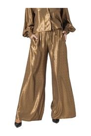 PALAZZO PANTS WITH COULISSE