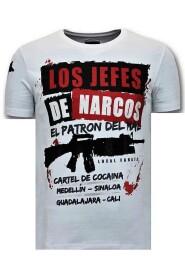 T-shirt Los Jefes De Narcos
