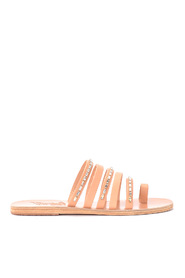 Niki Diamonds læder sandal