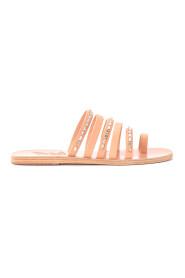 Niki Diamonds leather sandal