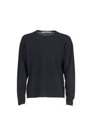 Pull entaille col