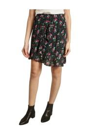 Video Asymmetric Frilled Skirt