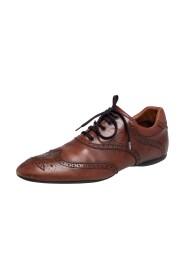 brukt Brogue Leather Derby