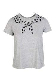 Dots Butterfly Knot Top