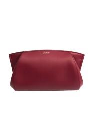 L3001500 Lærclutchbag for damer