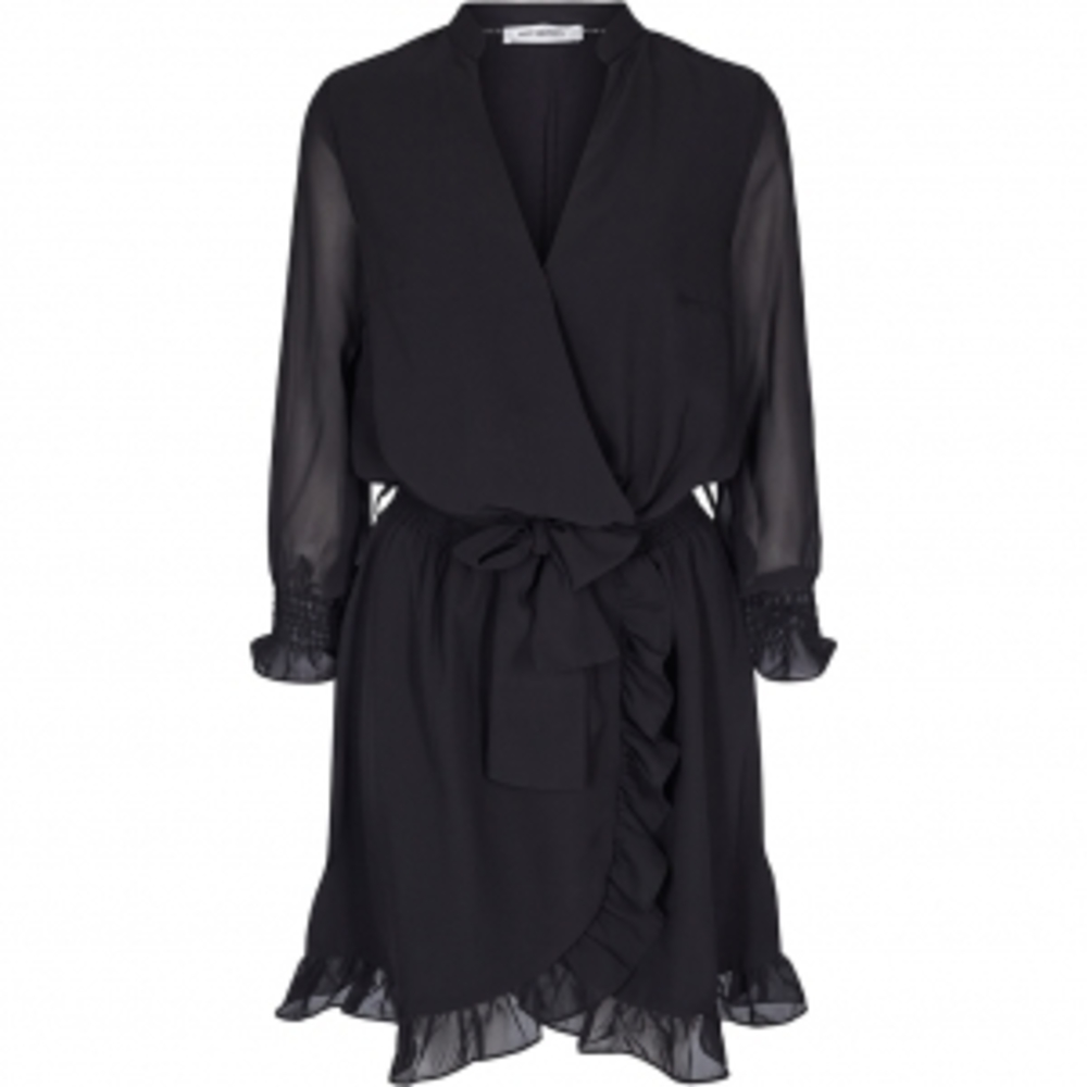 Chiffon smock dress