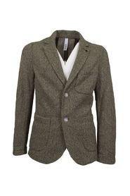 men's knitted blazer