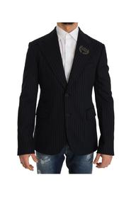 Striped Royal Crown Blazer