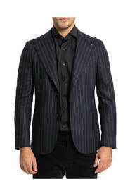 Single Breasted Striped Suit