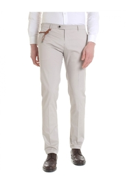Trousers cotton SLIM CN1204X BEIGE