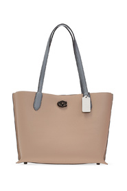 Willow shopper bag with logo
