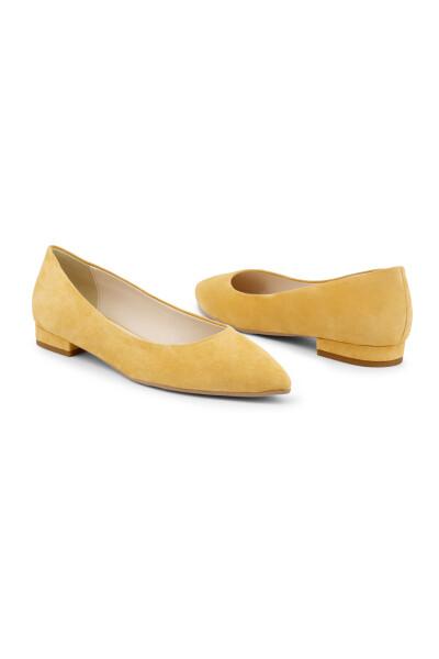 Made In Italia Yellow Mare-mare Baletki - Żółty