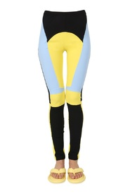 LEGGINGS WITH MULTICOLOUR PATCH