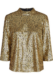 Troye Gold Blouse