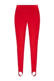 Trousers with stirrups