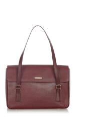 Pre-owned Leather Shoulder Bag