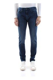 CALVIN KLEIN K10K103319 SLIM FIT JEANS Men DENIM MEDIUM BLUE
