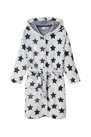 Bathrobe star print