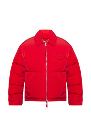 Insulated jacket with logo