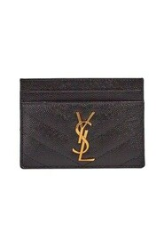 grained card holder