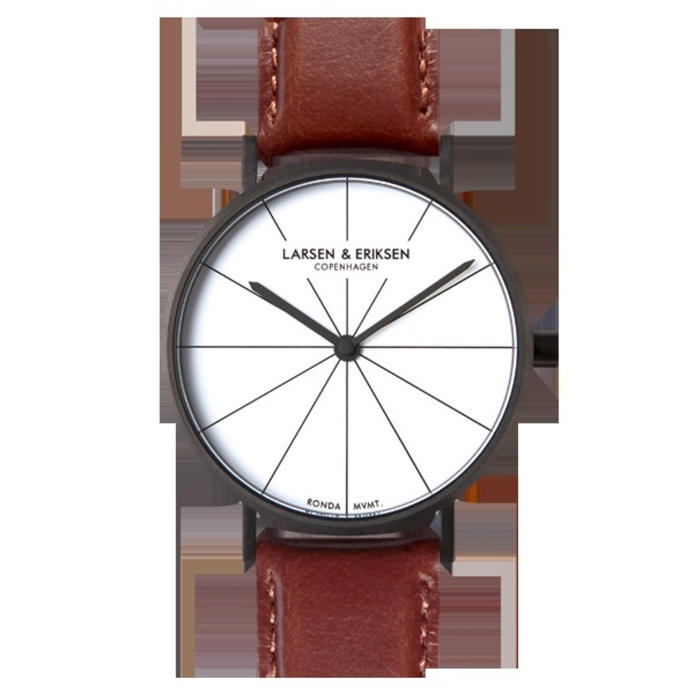 BLACK WHITE BROWN 41MM
