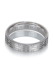 Kilim Ring Metal 18K White Gold