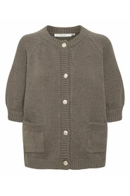 Hannali SS Cardigan - Earth