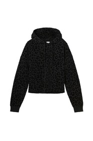 Rene Leopard Extra Loose Fit Hoody