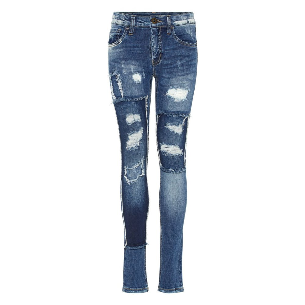 Skinny fit jeans distressed